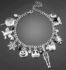 Fall & Winter Holiday Charm Bracelet