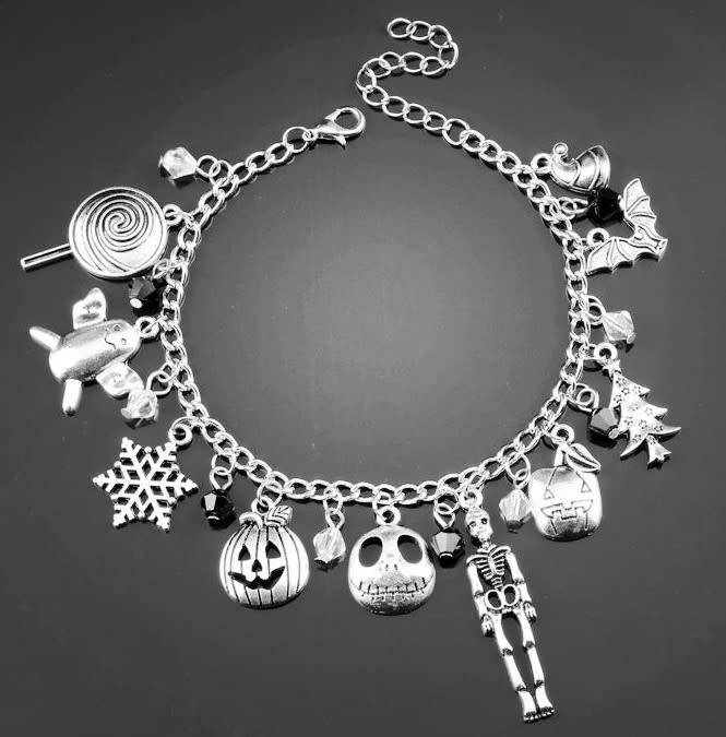 Fall & Winter Holiday Charm Bracelet