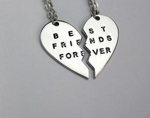 Best Friends Forever Necklace Set