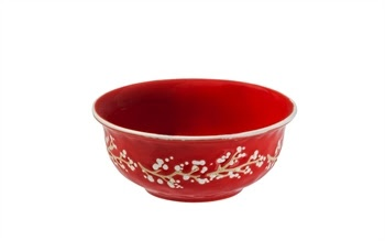 Fleurish Home Holiday Farmhouse Ceramic Bowl