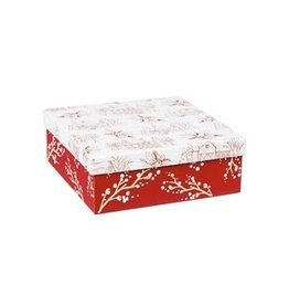 Box of Holiday Farmhouse Paper Luncheon Napkins (60ct)