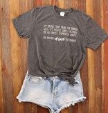 Fleurish Home Fruit Salad for DInner Quote Tee