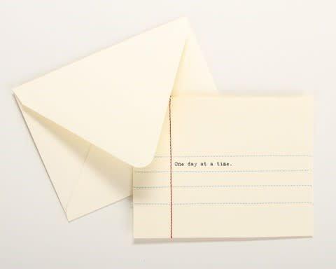 Hand Sewn Card (various)