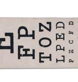 Eye Chart Eye Glasses Case