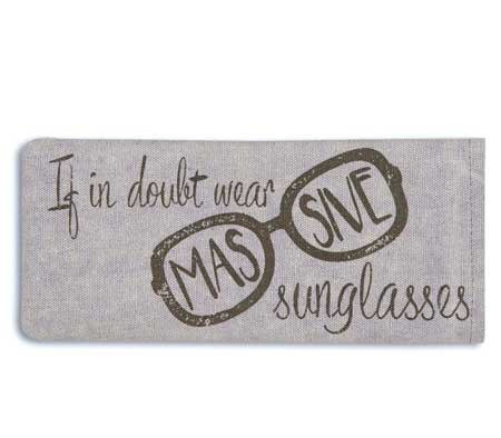 Massive Sunglasses Eye Glasses Case