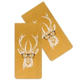 Buck w Spectacles Eye Glasses Case