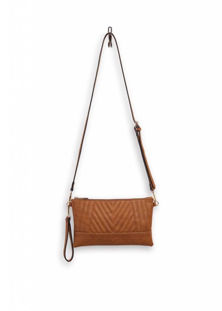 Mona B Rumor Crossbody Bag Chestnut