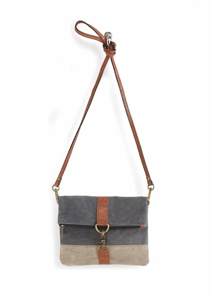 Mona B Finley Fold-Over Crossbody Bag Cambridge