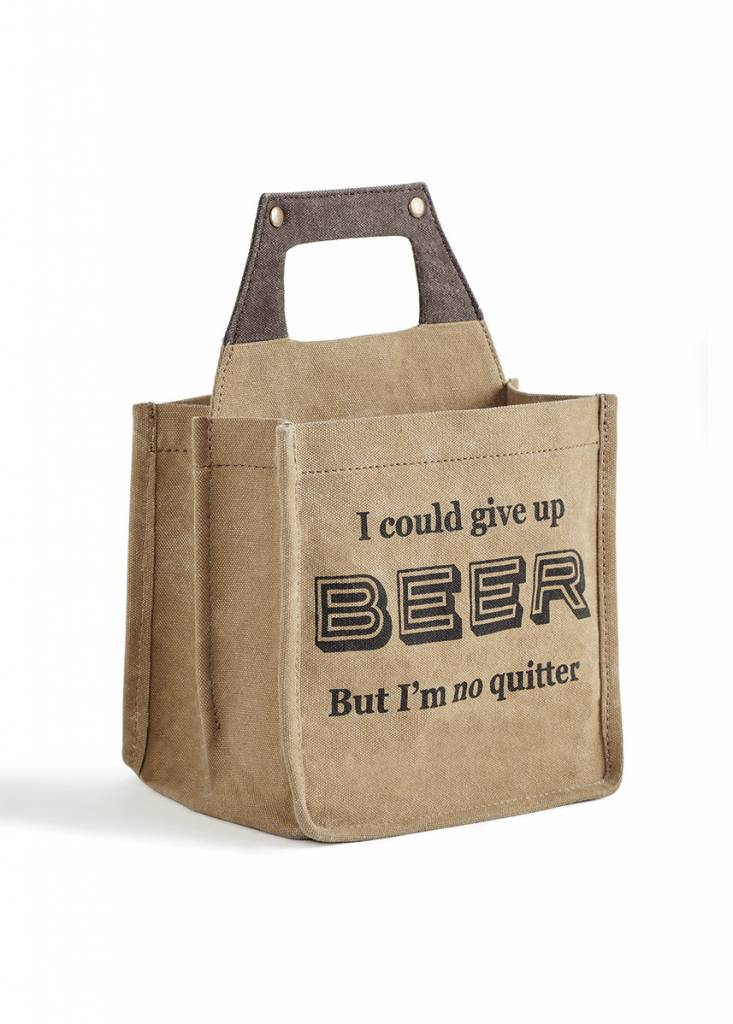 Quitter Beer Caddy