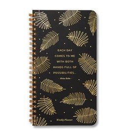 Each Day Comes to Me Undated Spiral Planner