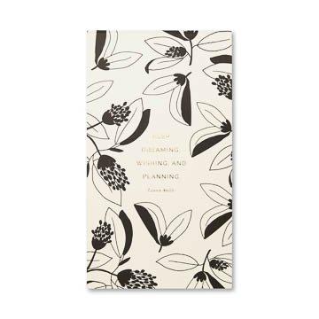 Fleurish Home Keep Dreaming Wishing Undated List Pad
