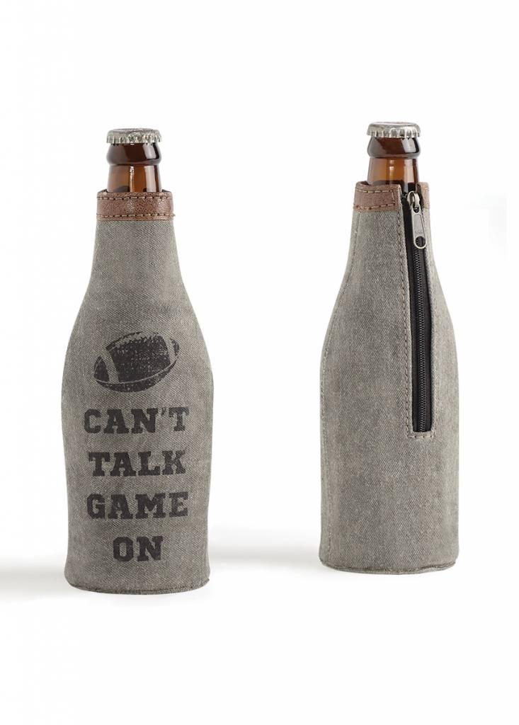 Mona B Game On Bottle Koozie