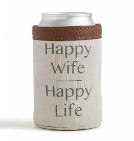 Mona B Happy Life Can Koozie