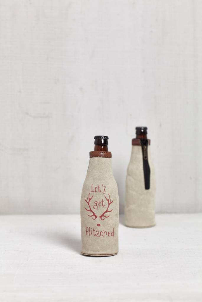 Blitzened Bottle Koozie