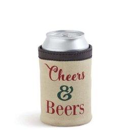 Mona B Cheers & Beers Can Koozie