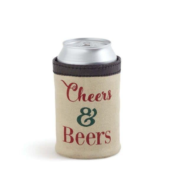 Cheers & Beers Can Koozie