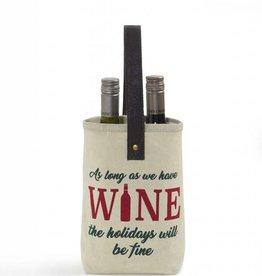 Mona B Christmas Double Wine Bag