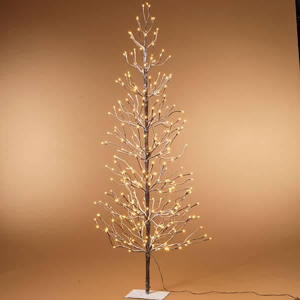 Electric Snowy Tree 6'H w 296 lights