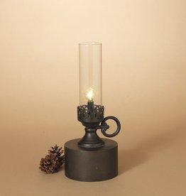 Fleurish Home Antique Candle Style B/O Metal Lantern Lamp