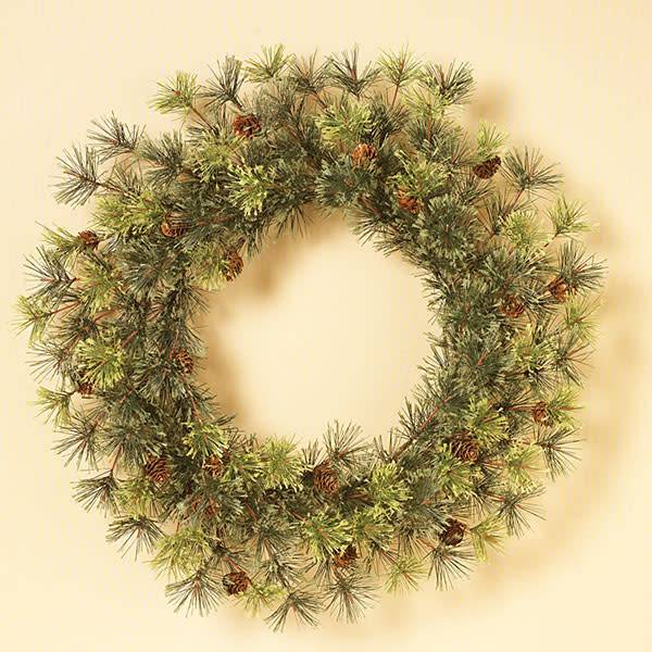 "Mountain Pine Wreath 24"""