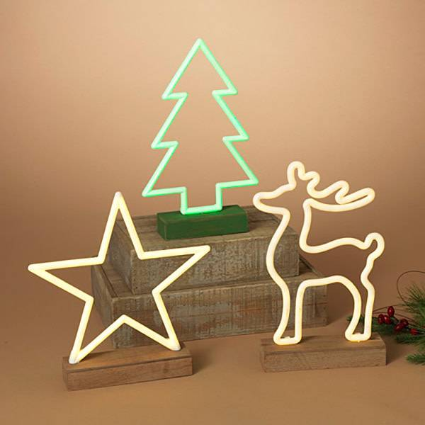 LED Neon Holiday Decor (choice of 3 designs)