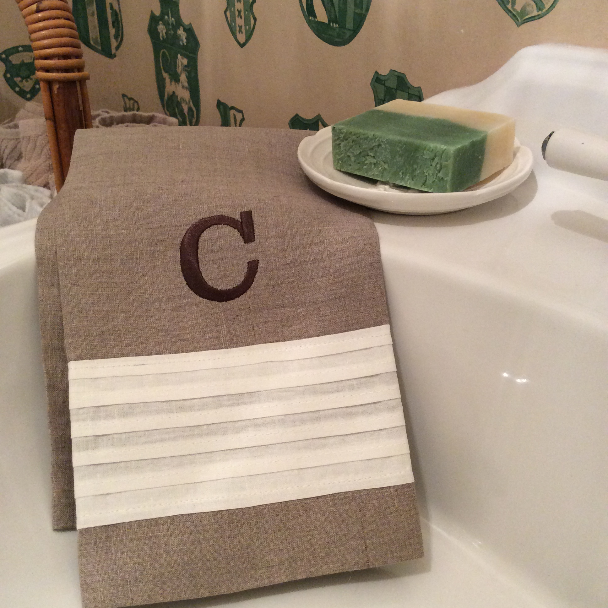 Monogram bathroom towels - Properly Mine Has The Perfect Monogram To Make Our Simple Hand Towels Go From Basic To Elegant Browse Through Our Assortment Of Terry Cloth Towels And