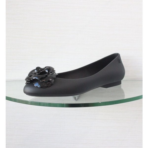 Melissa Ballet Flat with Flower Detail