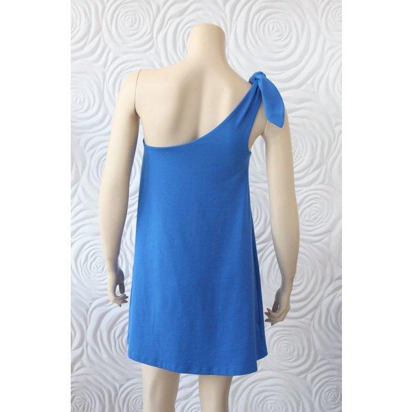 Susana Monaco One Shoulder Bow Dress