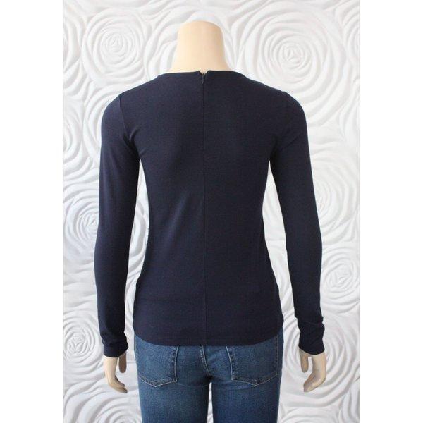 Donna Degnan Twist Front Long Sleeve T-Shirt