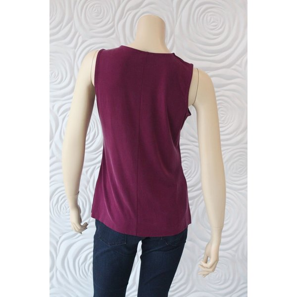 Ecru Sleeveless Tank