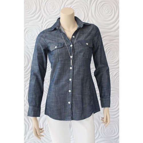 Bell Alicia Bell Basic Shirt with Gold Heart Patches