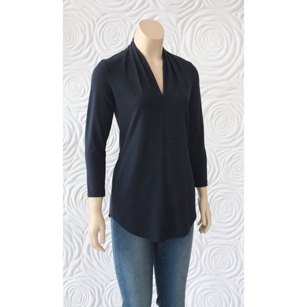 Iris V-Neck 3/4 Sleeve Blouse