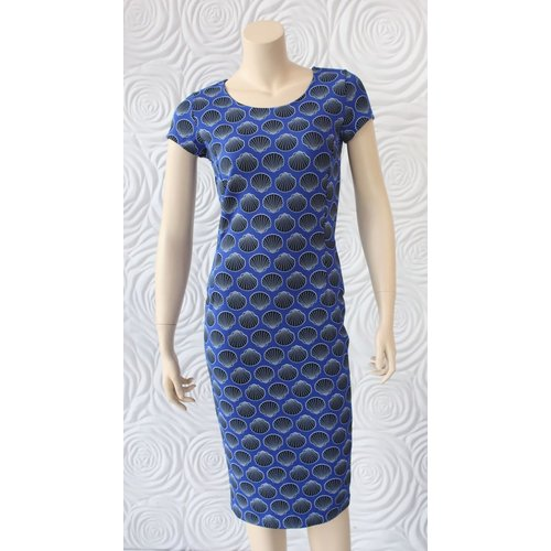 Juffrouw Jansen Juffrouw Jansen Shell Print Dress