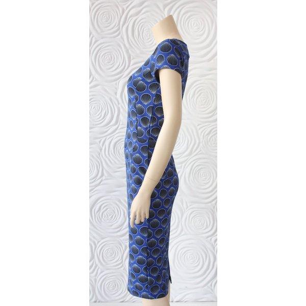 Juffrouw Jansen Shell Print Dress