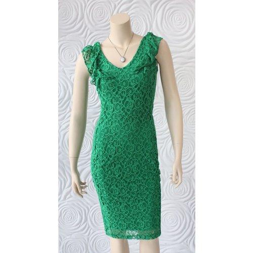 Juffrouw Jansen Juffrouw Jansen Dress With Ruffle And Lace