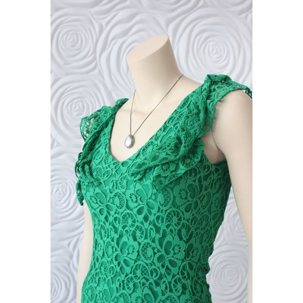 Juffrouw Jansen Dress With Ruffle And Lace