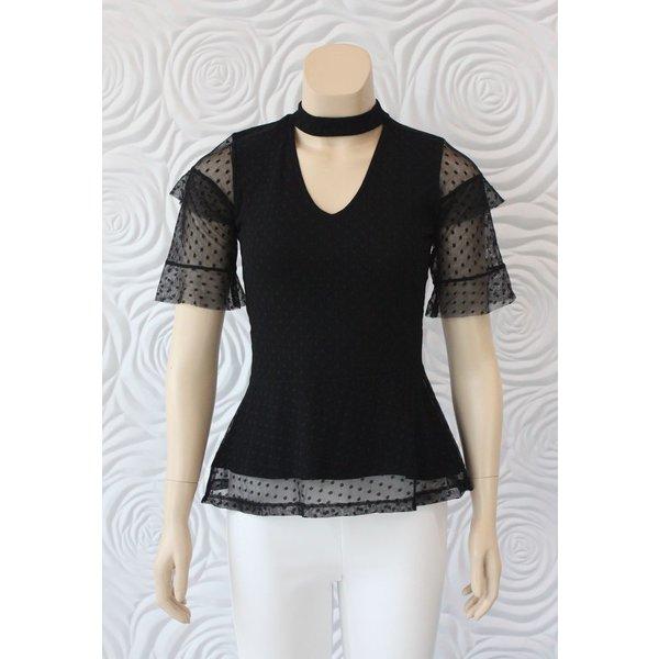 Juffrouw Jansen Mesh Shirt