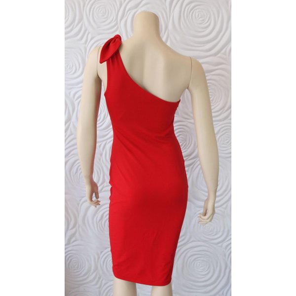 Susana Monaco Tie Shoulder Dress