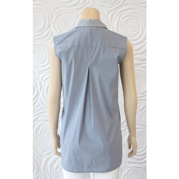 Max Volmary Tunic With Packwork at Buttons