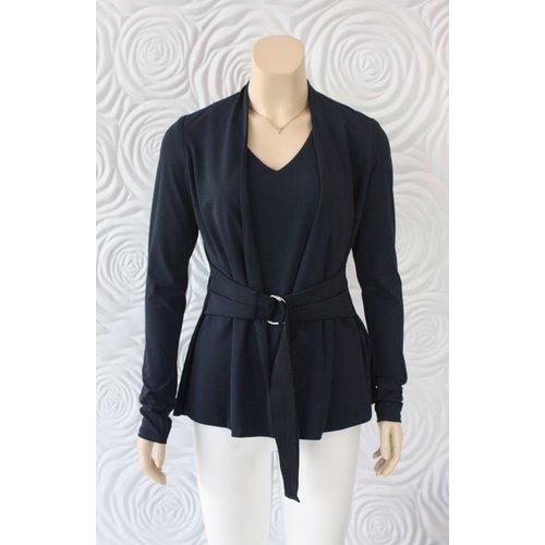 Iris Iris Jacket with Tie Belt Detail
