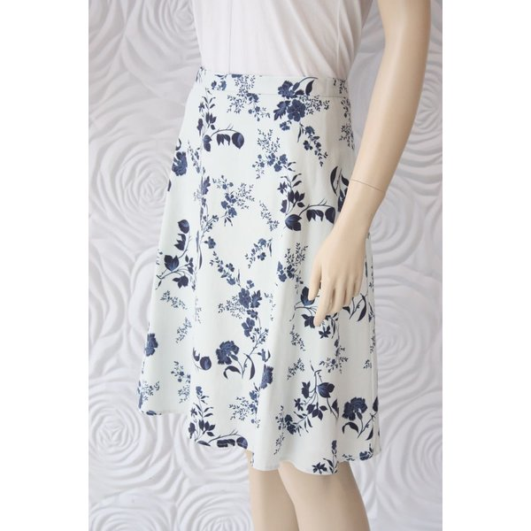 Leona Lee A-Line Cotton Skirt