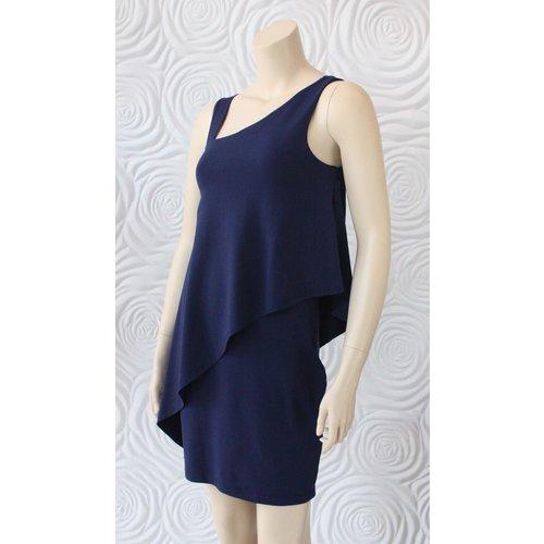 Susana Monaco Susana Monaco Asymmetrical Overlay Dress
