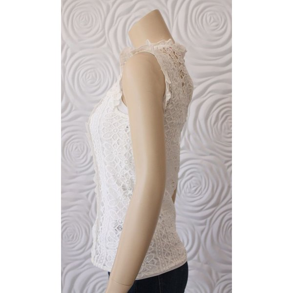 Stella Lace Short Sleeve Blouse