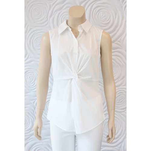 Donna Degnan Donna Degnan Sleeveless Tailored Blouse