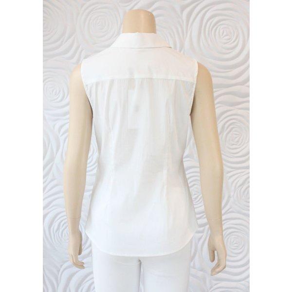Donna Degnan Sleeveless Tailored Blouse