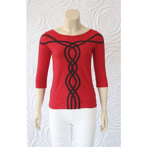 Isabel De Pedro Isabel De Pedro 3/4 sleeve Top