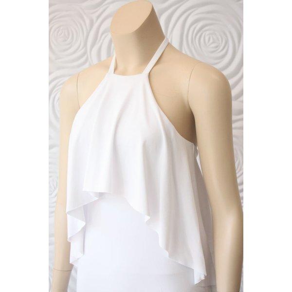 Susana Monaco Draped Halter Dress