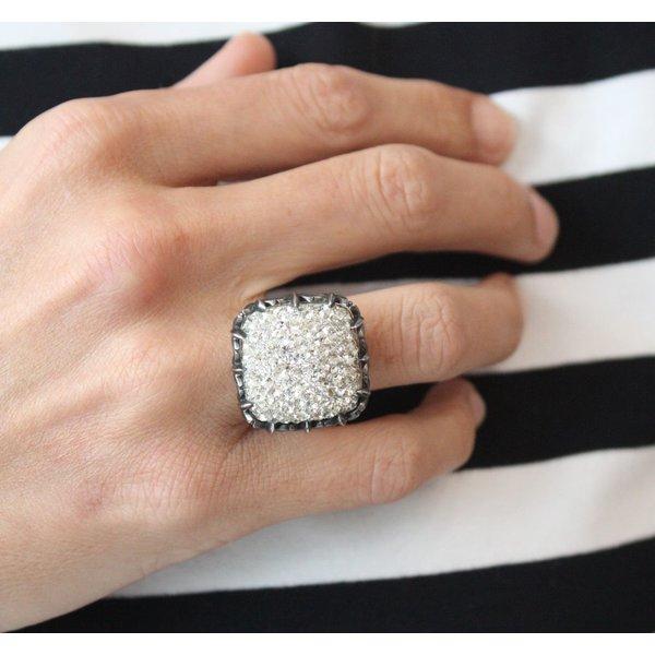 La Costa Tiara Crystal Ring