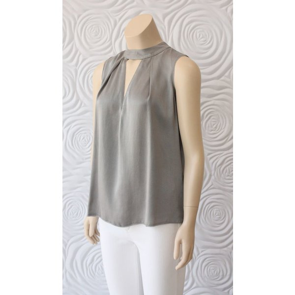 Go Silk Cutout Sleeveless Tank