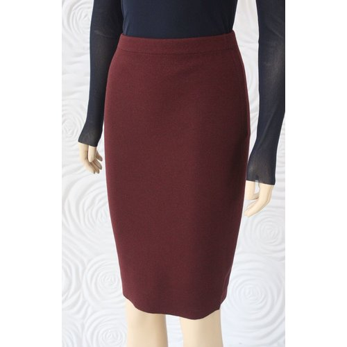 D Exterior D Exterior Double Sided Mid Length Skirt